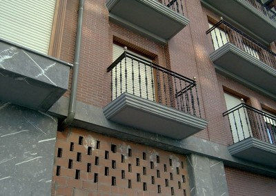 Balcones de fundición