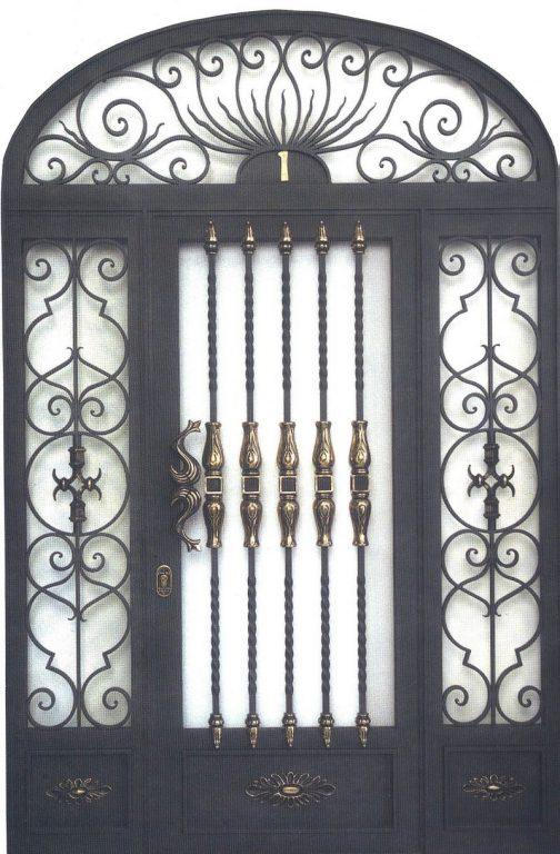 Puertas de portal de forja bilbao en bizkaia montajes ezkur - Herrerias en bilbao ...