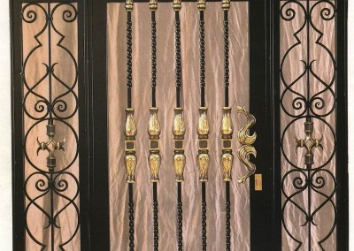 Puertas de portal de forja bilbao