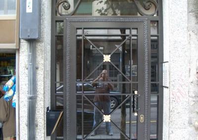 Puertas de portal de forja clasica