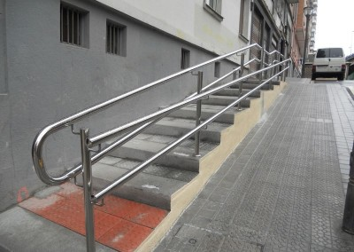 Pasamanos Rampa-escaleras