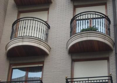 Balcones de fundición