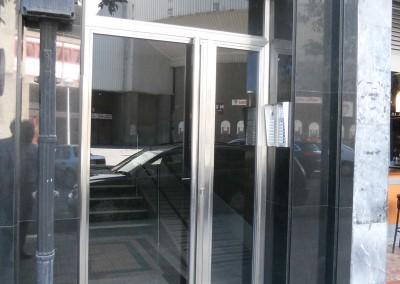 Puertas de portal de inoxidable