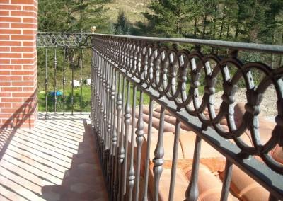 Balcones de forja