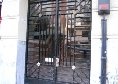 Puertas de portal de forja clasicas bilbao