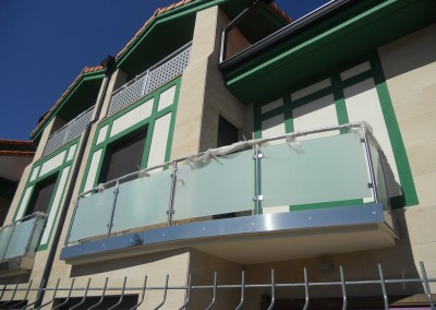 Balcones de vidrio