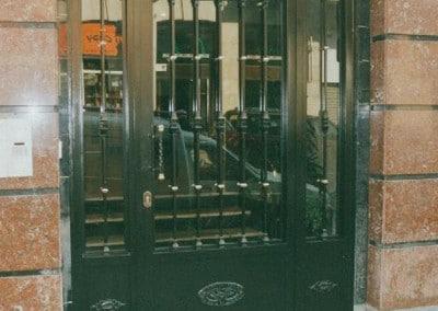 Puertas de portal de forja estandar