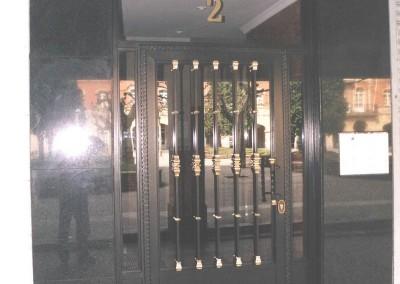 Puertas de portal de forja estandar plus