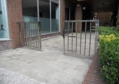 Puertas cancelas