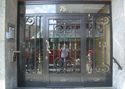 Puertas de portal de forja marbella