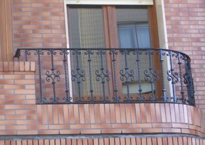 Varias balcones