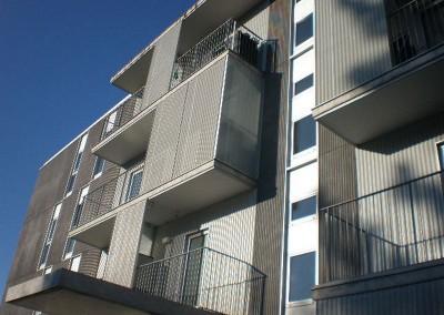 Balcones de barroteras
