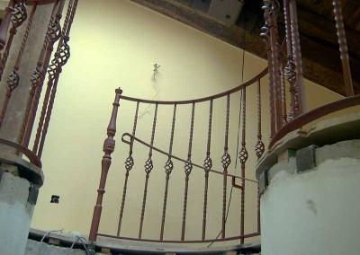 Huecos de escalera de forja