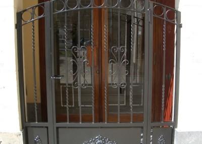 Puertas de portal de forja cancelas