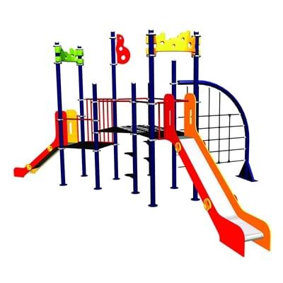 Parques infantiles toboganes