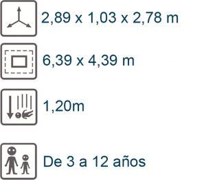 info aroldo 1,20 m