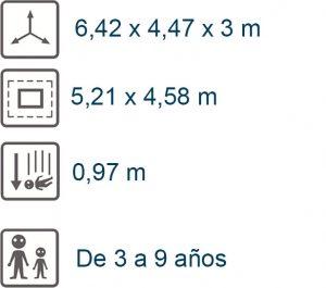 info conjunto walkiria