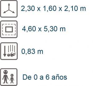 info locomotora mini