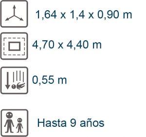 info poni 4 plazas