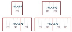 numero plazas